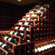 Houston, March 2016, Nos Caves Wine Storage promo story, wine rack
