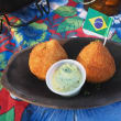 Boteco chicken and cheese croquettes