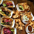 Eight Row Flint tacos and chips