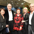 News, Zadoks Holiday Party, Dec. 2015,Lindy and Sandy Kahn, Helene Zadok, Bob and Beverly Pickelner