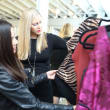 Monica Garza, Heather McLeskey Conerly at Miles David fashion show