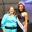 Beat the Blues Crisis Intervention Sylvia LeBlanc and Miss International 2015 Elise Banks