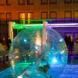 The Saint Anthony Hotel San Antonio Grand Reopening 2015 acrobat ball