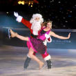 Galleria Ice Spectacular Nov 2015 Santa and skater