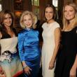 La Perla Social Sima Ladjevardian, Lynn Wyatt, Suzy Biszantz, CEO LA PERLA, Ashley Clauss, VOGUE