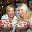 Houston, Roseann Rogers and Lara Bell birthday party, August 2015, Roseann Rogers and Lara Bell