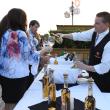 News, Shelby, Peter Remington 60th birthday, August 2015, Enjoying Demetrio Peter-Ritas and Intipalka wine