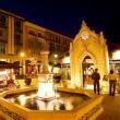 Santana Row night scene San Jose California