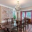 Houston, real estate, August 2017, George R. Brown's River Oaks Mansion, 3363 Inwood Dr, dining room