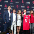Houston, Rockets owner Tilman Fertitta and family, Oct 2017