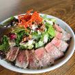 Grilled steak salad