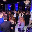 Halo House gala partygoers