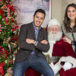David Garcia with Luxury Home Magazine, Santa, Alanna D'Antonio