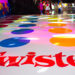 Twister dance floor
