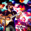 Zac Brown Band Zac Brown colorful background