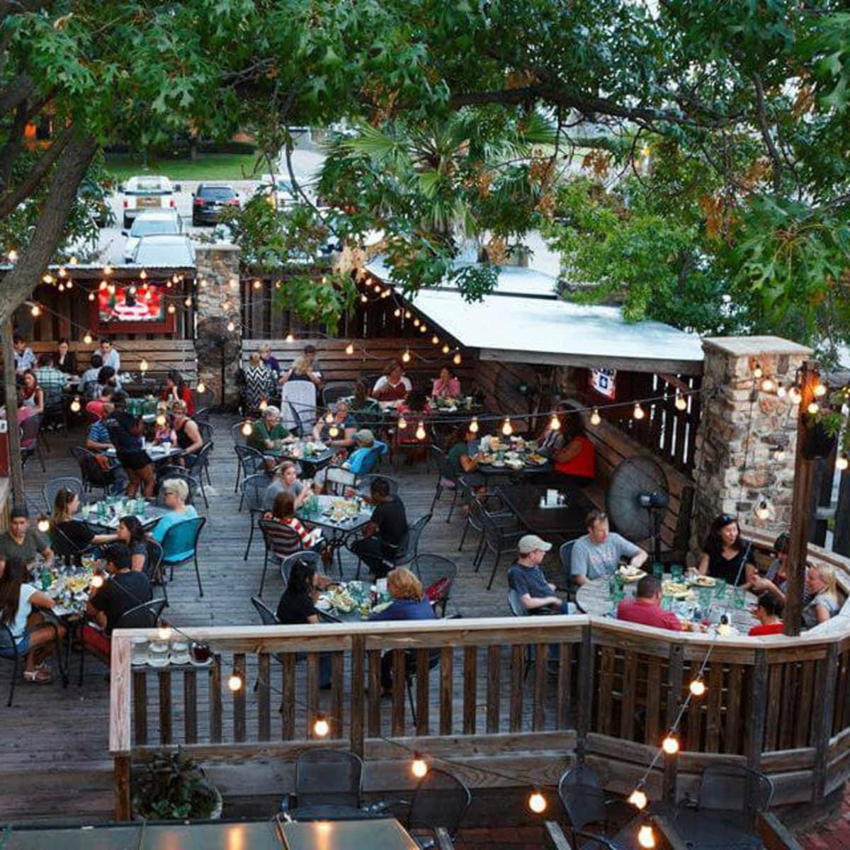 Patio at Ozona Grill & Bar in Dallas