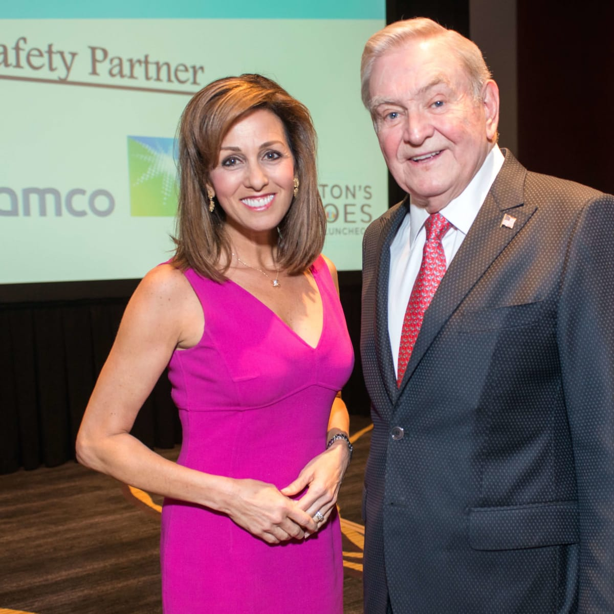 Crime Stoppers luncheon, 6/16 Janet Shamlian, Dave Ward