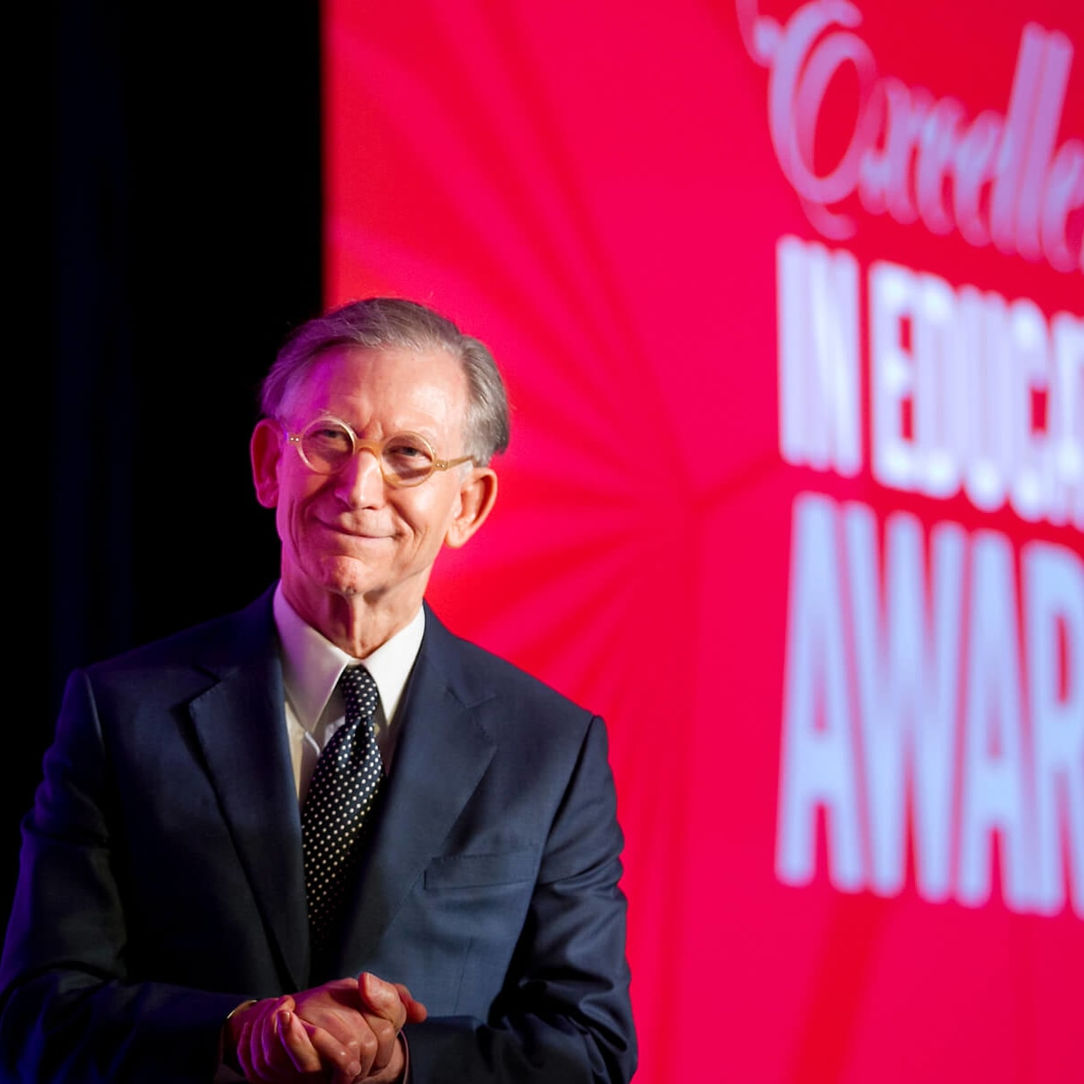 Charles Butt H-E-B San Antonio billionaire at 2013 H-E-B Excellence in Education Awards