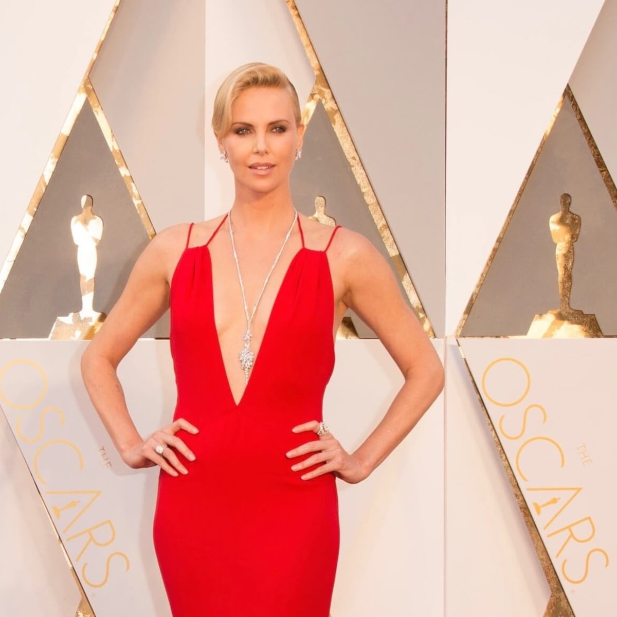 Charlize Theron in Harry Winston