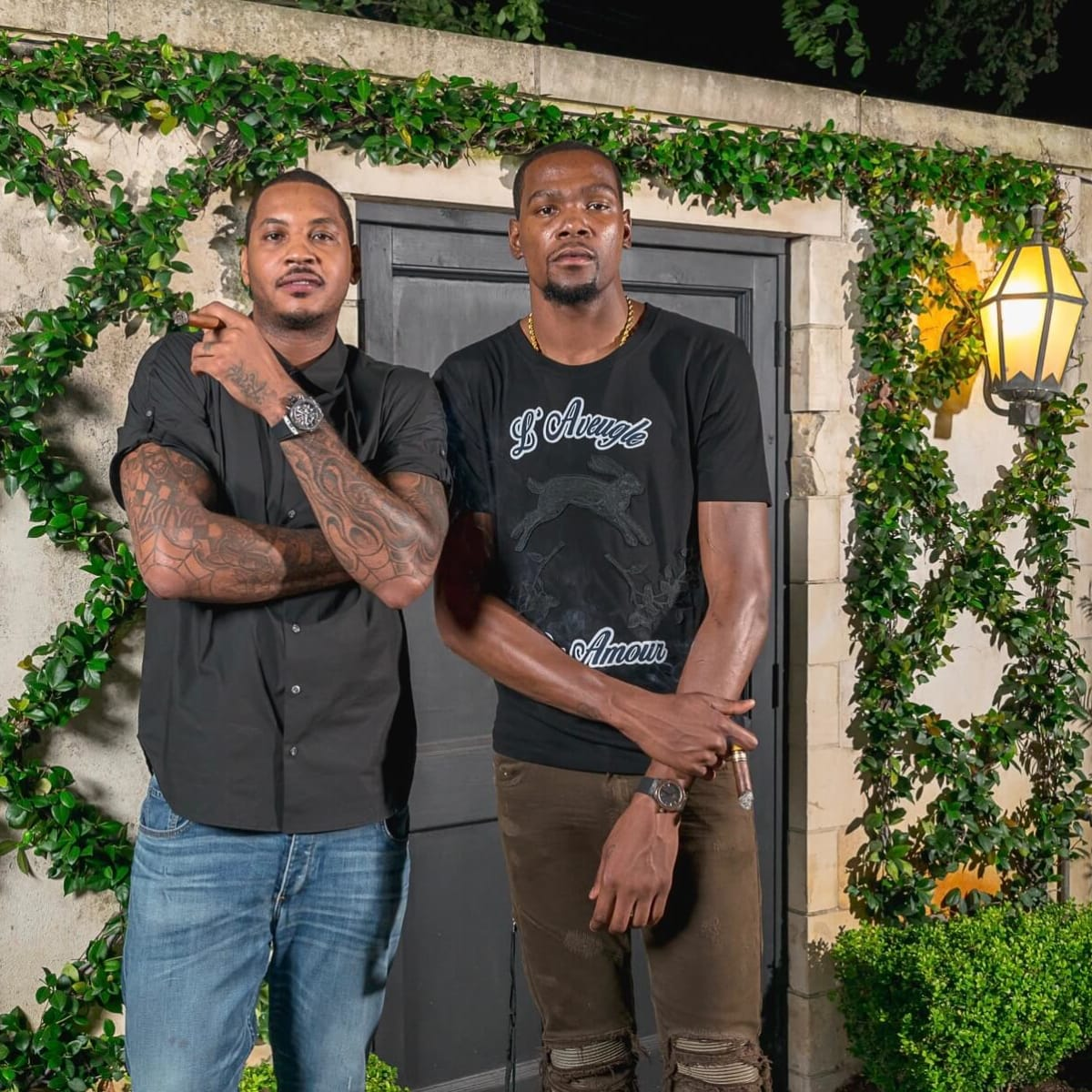 Olympic Basketball party 7/16, Hublot watch, Carmelo Anthony, Kevin Durant