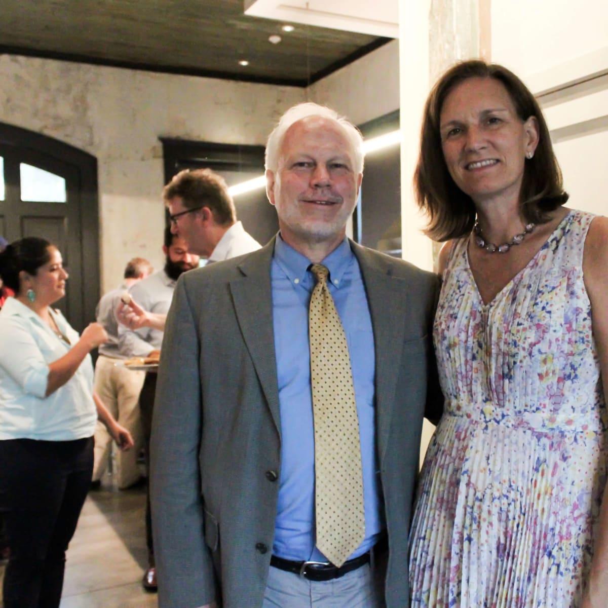 Houston Parks Board event, 7/16, Lee Ehmke, Anne Whitlock
