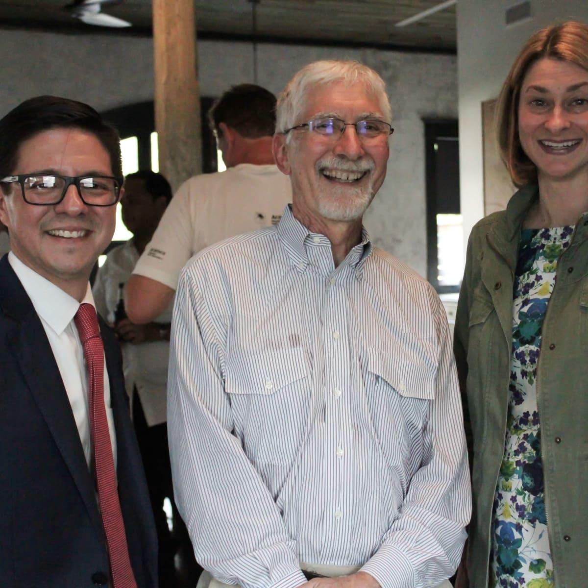 Houston Parks Board event, 7/16, Nick Espinosa, John Long, Leigh McBurnett