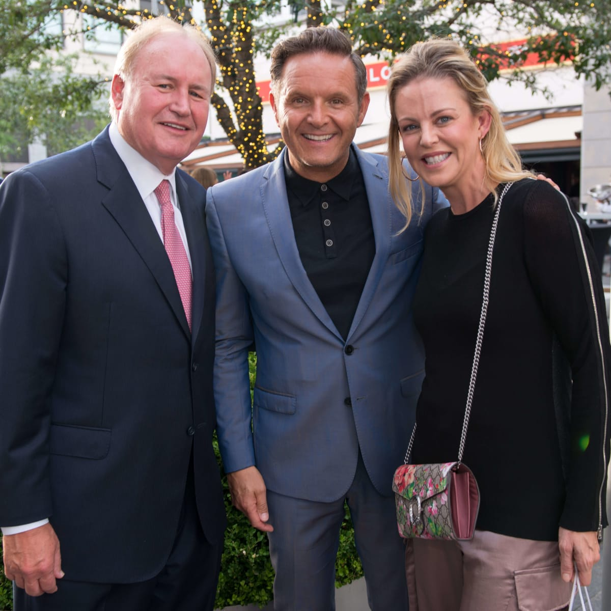 Ben-Hur premiere, Aug. 2016, Elizabeth Petersen, Mark Burnett, Gary Petersen