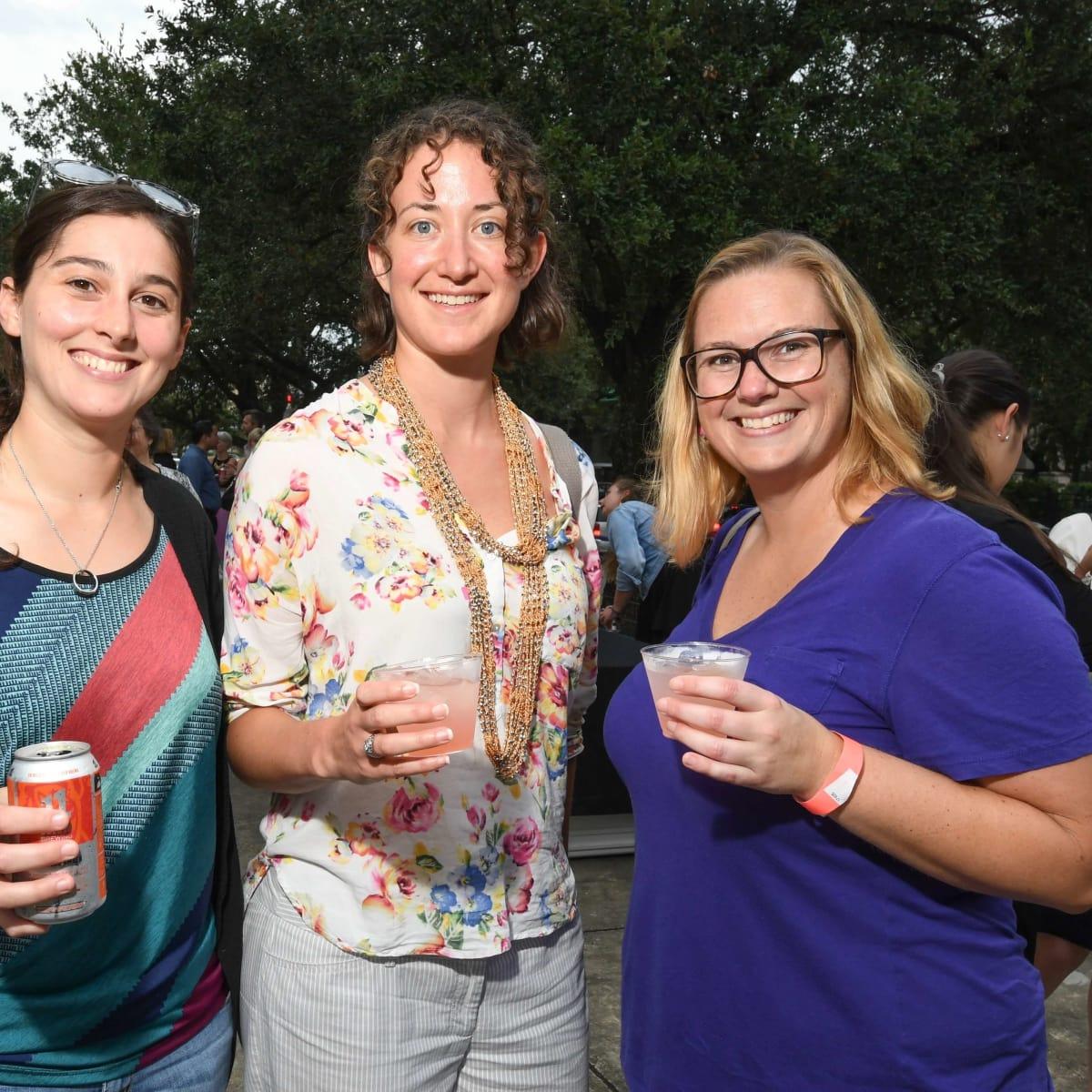 Contemporary Arts Museum YPs, 8/16, Annamarie Dober, Teri Ogg, Camille Walker
