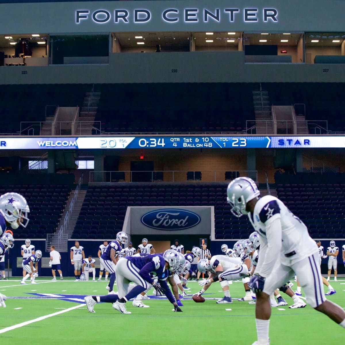 Dallas Cowboys at Ford Center in Frisco, Star