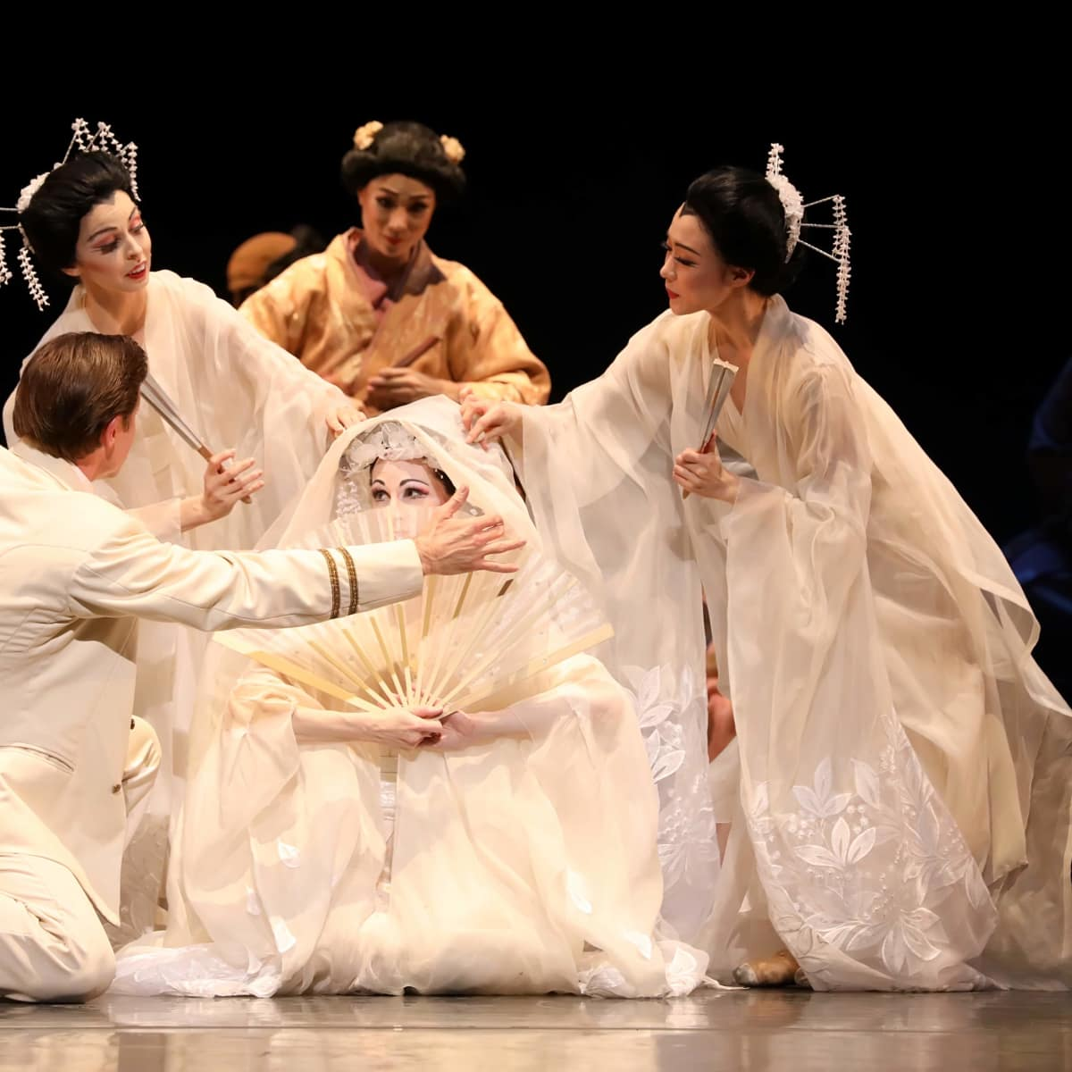 Houston Ballet, Madame Butterfly, Sept. 2016, company dancers