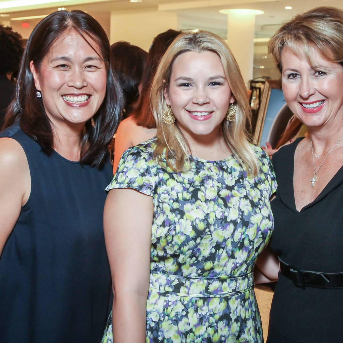Women of Distinction, Sept. 2016 Grace Kim, Mari Trevino, Ileana Trevino