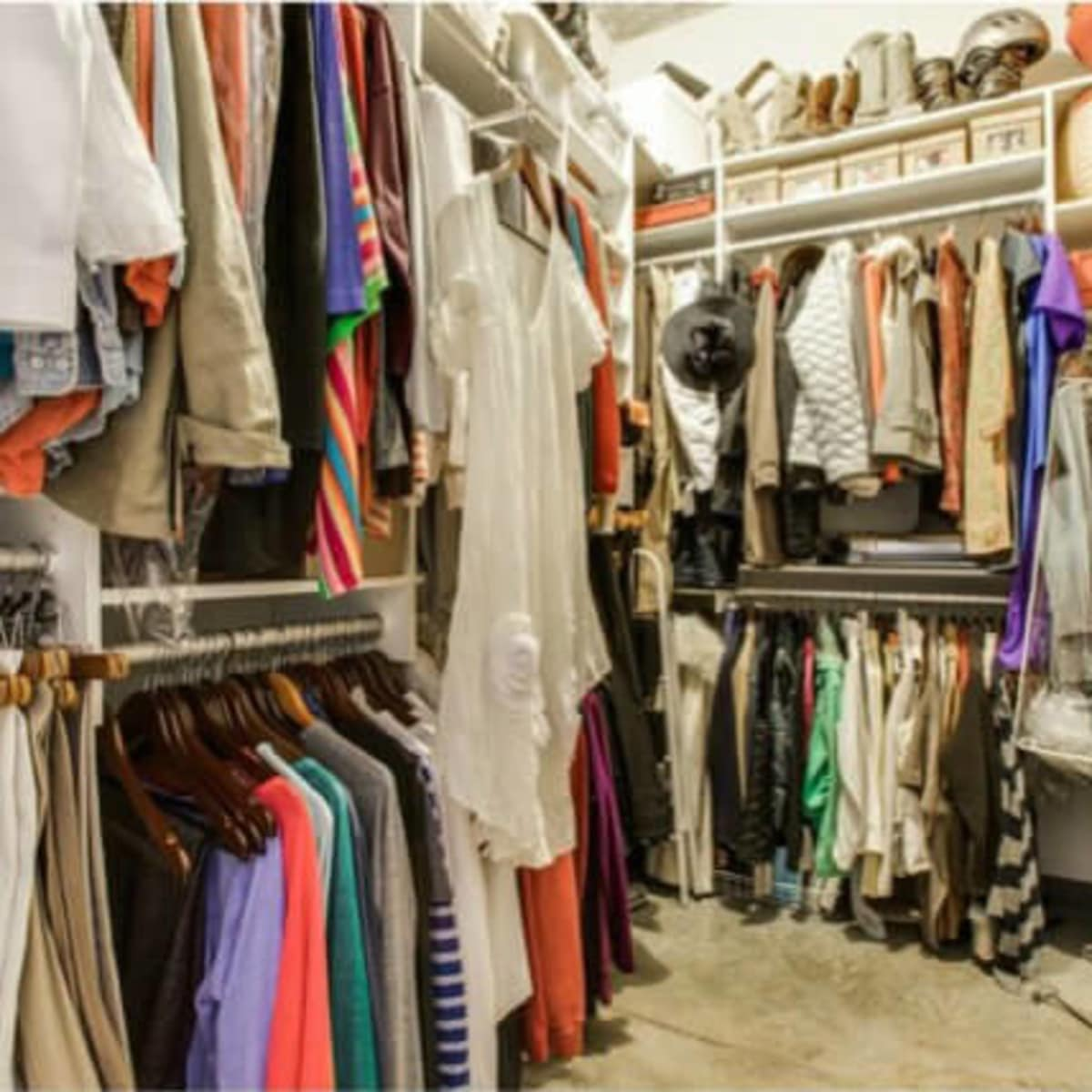 Closet at 1122 Jackson St. in Dallas