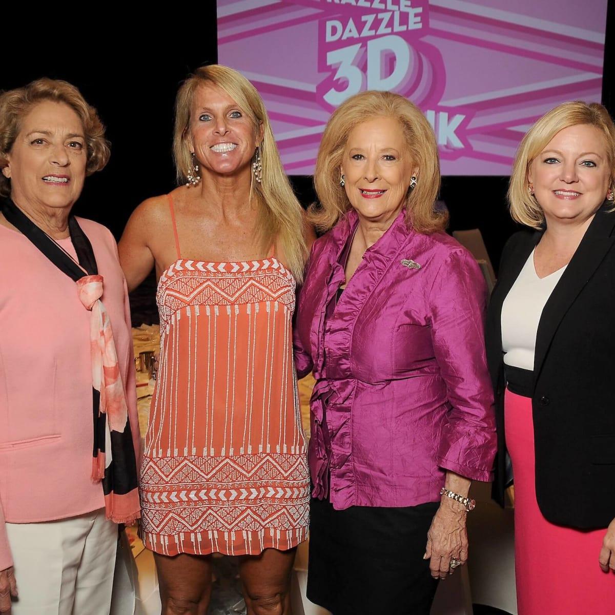 Memorial Hermann Razzle Dazzle lunch Honoree Mayor Pro Tem Ellen Cohen, author Elin Hilderbrand, Mary Ann McKeithan, Julie Voss