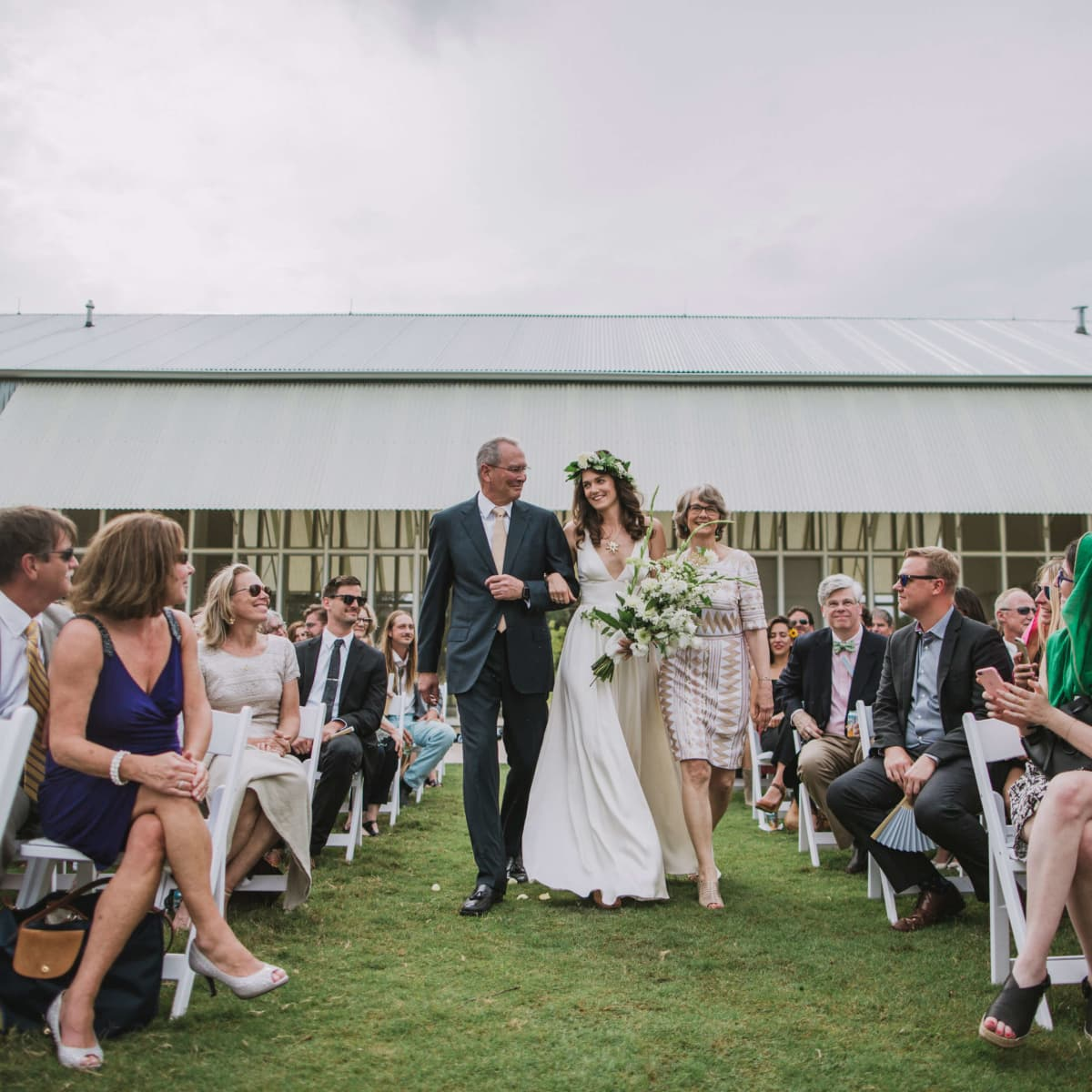 Hill Country wedding Prospect House ceremony