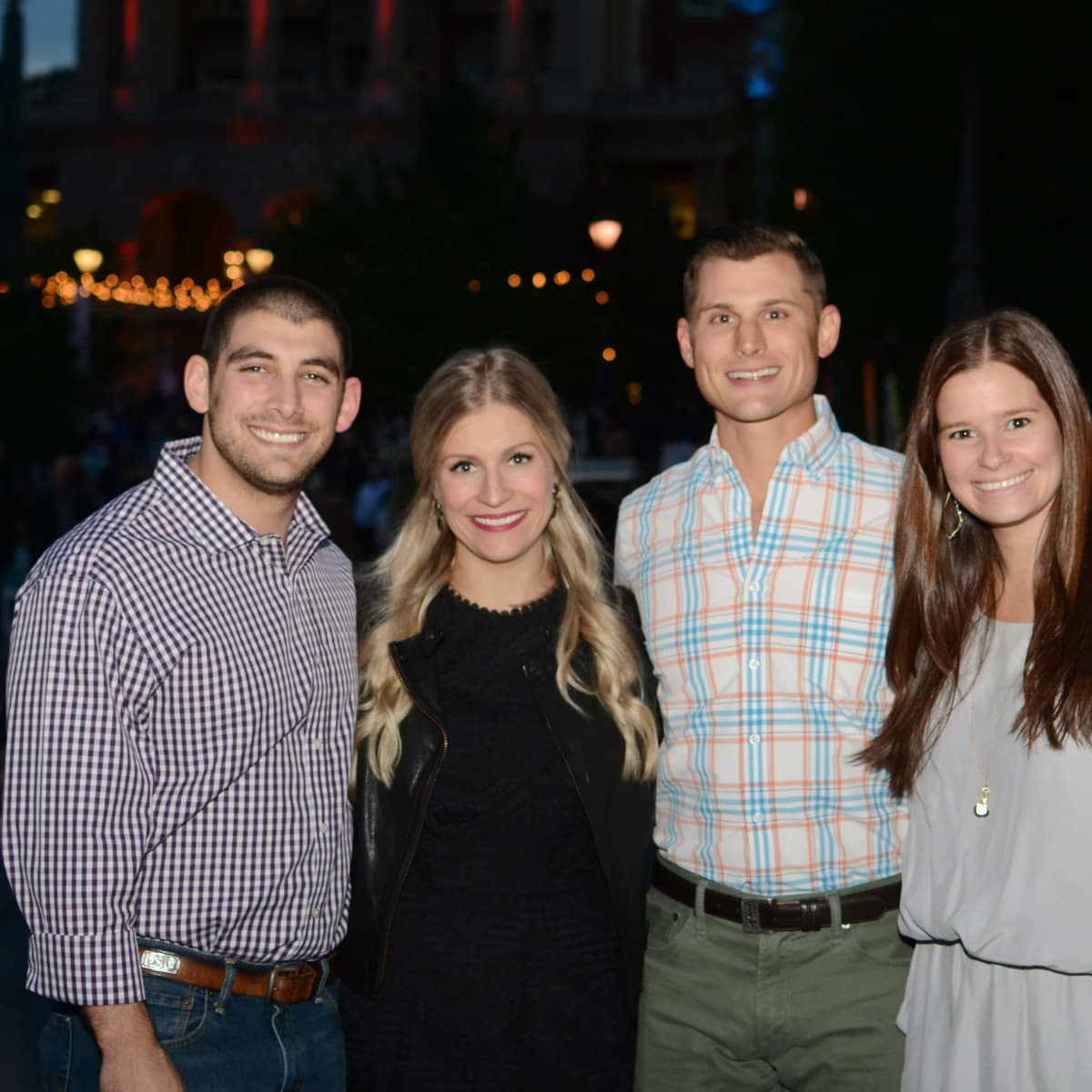 Matt Landrum, Catherine Landrum, Austin Lewis, McKenzie Moussa