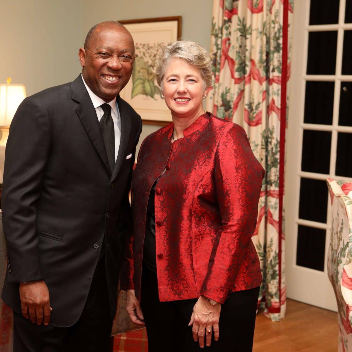 Houston, Barc Foundation's Barc On Broadway ball, Oct 2016, Mayor Sylvester Turner, Honorable Annise Parker