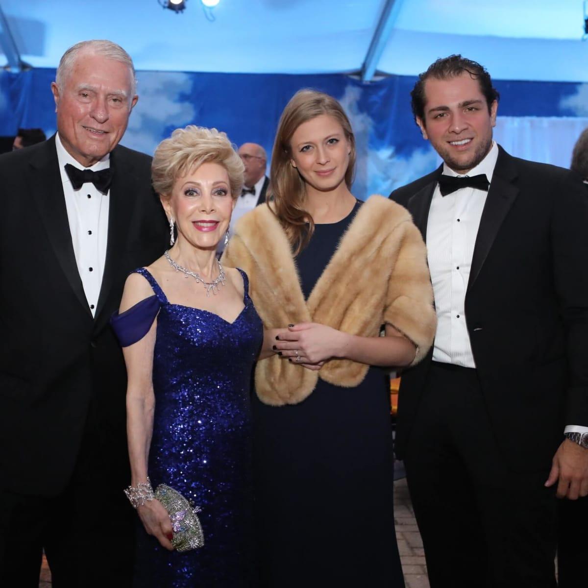 Jim Daniel, Margaret Alkek Williams, Princess Tatiana Galitzine, Guillermo Sierra at Houston Grand Opera opening night