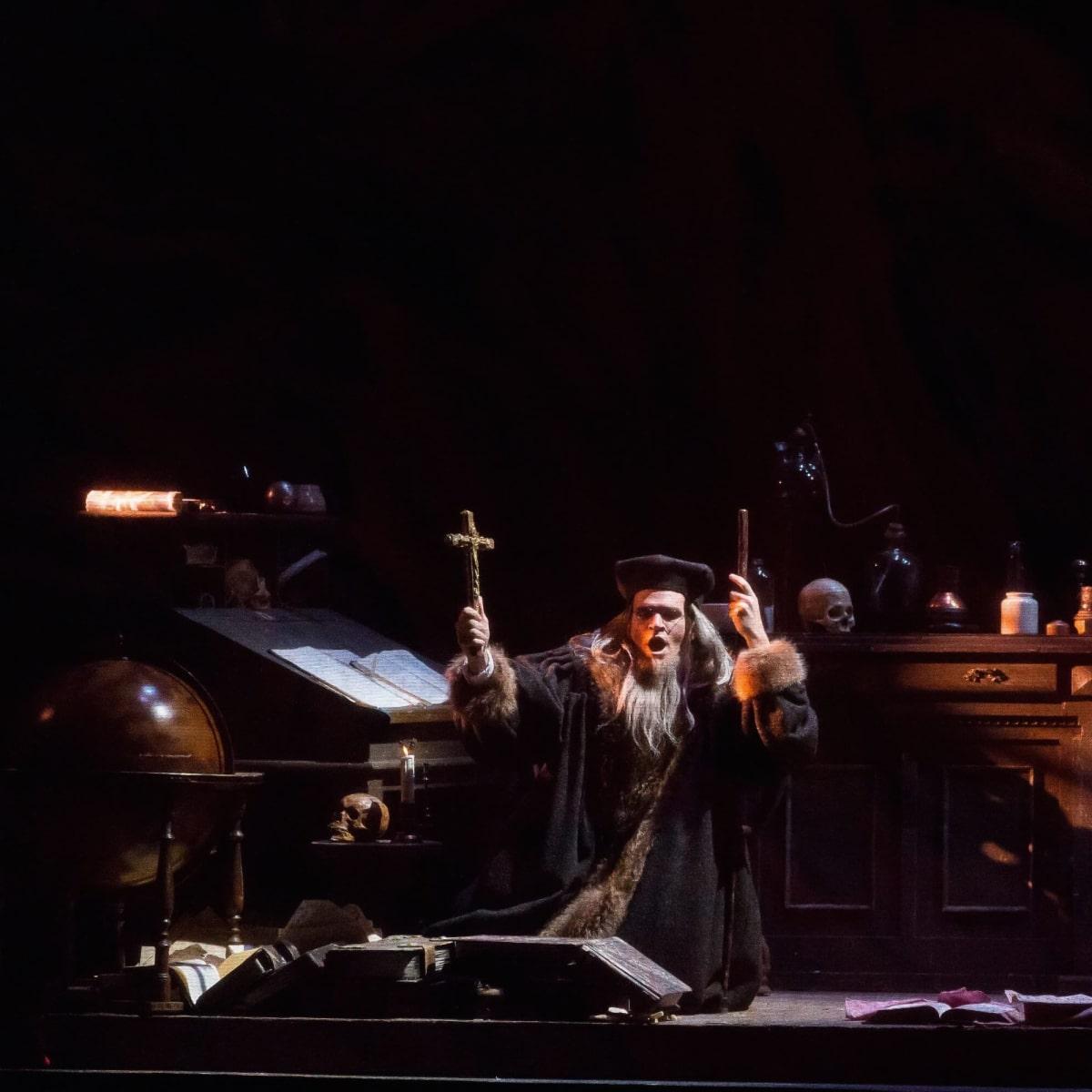 Houston Grand Opera Faust, Michael Fabiano