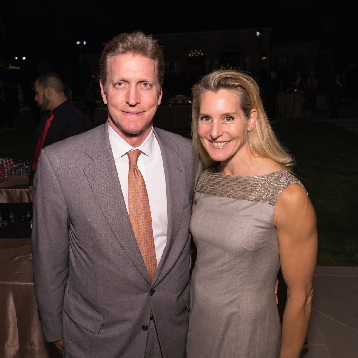 Jeff and Paula Paine at MD Anderson 75th anniversary gala
