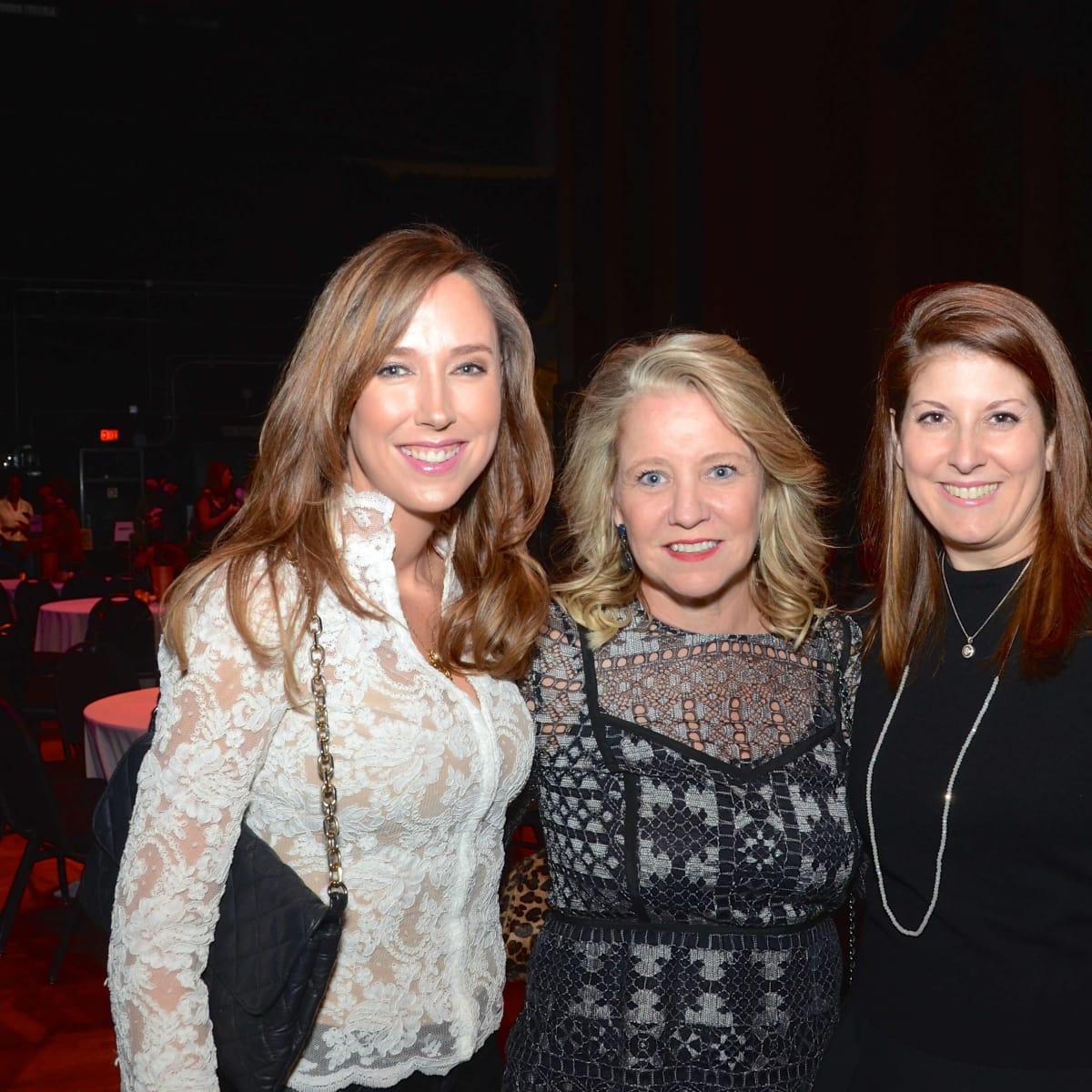 Houston, Society for Performing Arts gala, Nov. 2016, Ronel Golden, Elizabeth Vail, Christina Sacco