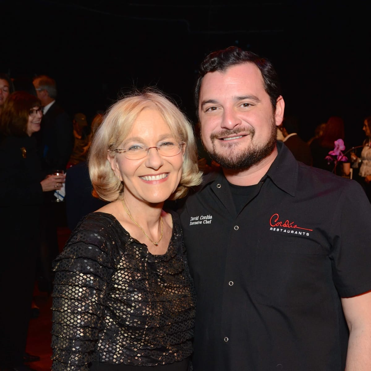 Houston, Society for Performing Arts gala, Nov. 2016, Teresa Einhorn, David Cordua