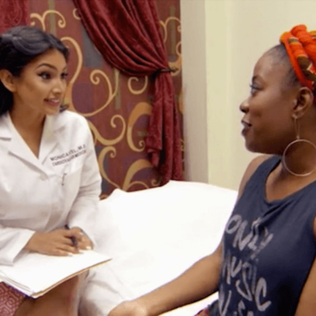 Married to Medicine Houston episode 4 recap Dr. Monica Patel and patient
