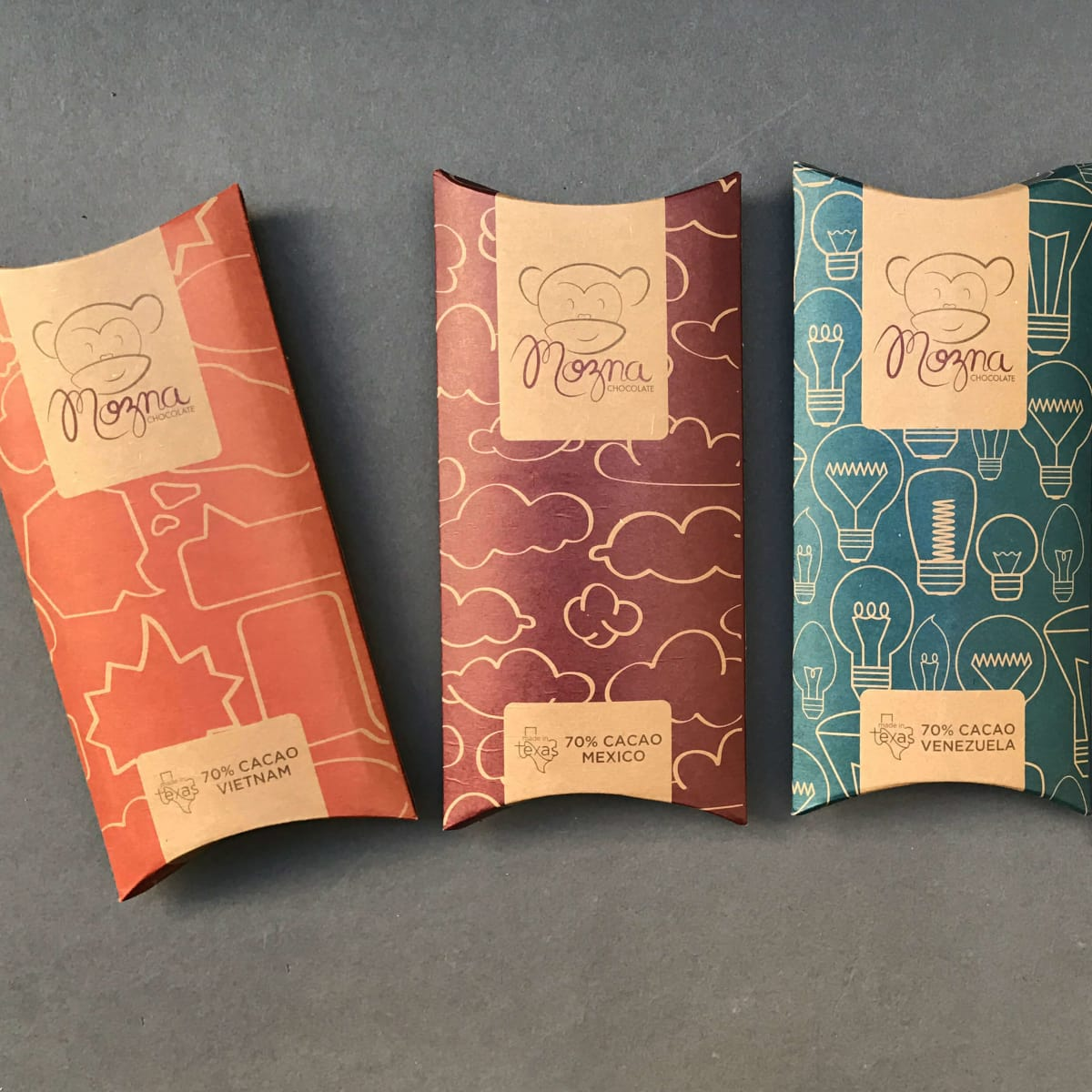 Mozna Chocolate bars