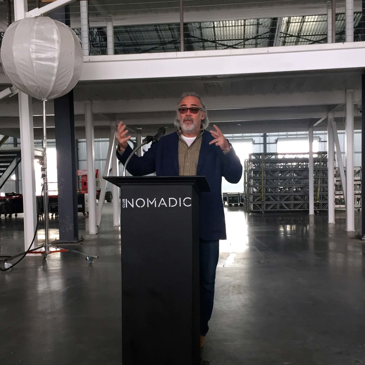 Houston, Club Nomadic nightclub Super Bowl LI, Club nomadic president Jack Murphy
