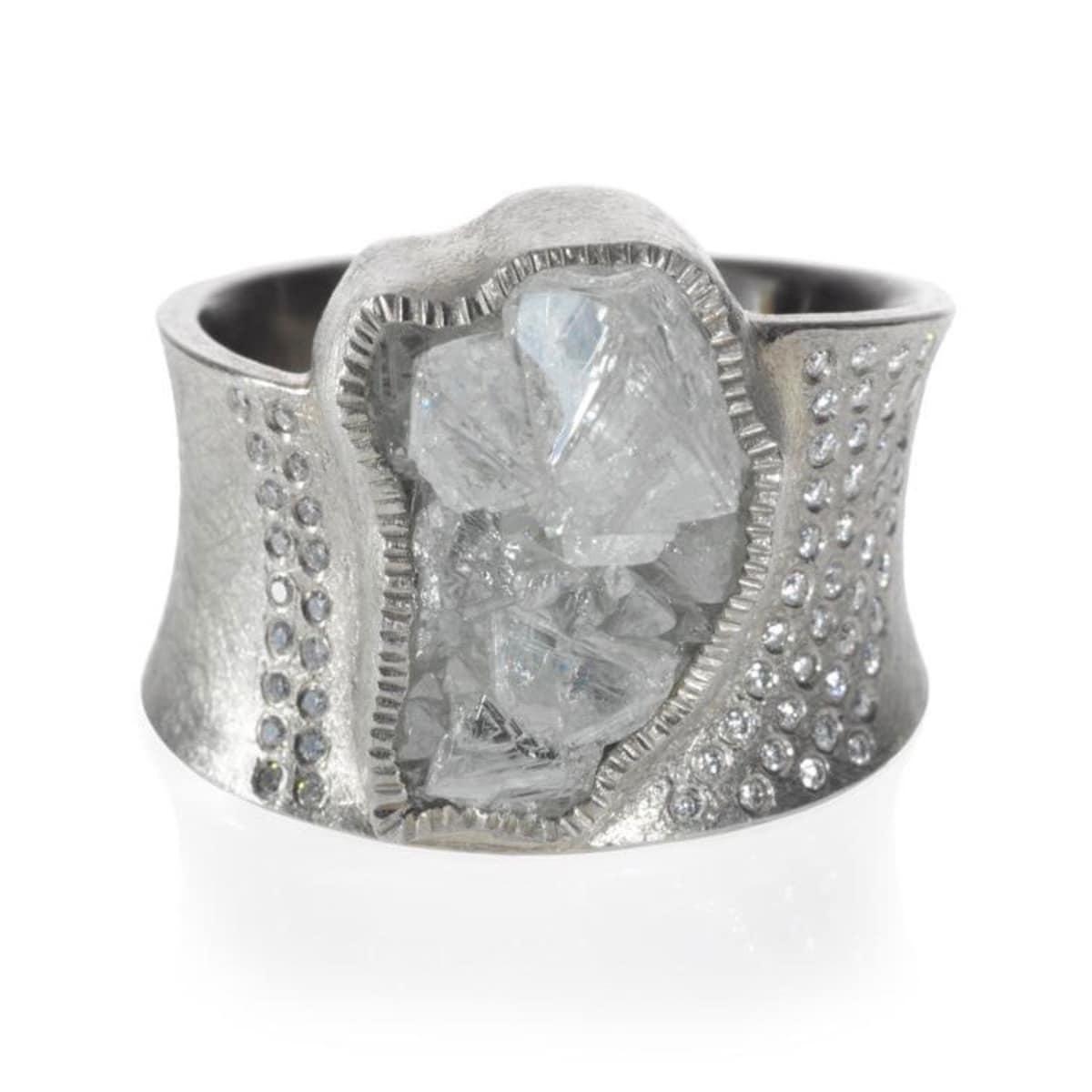 Silver Uncut Diamond Todd Reed