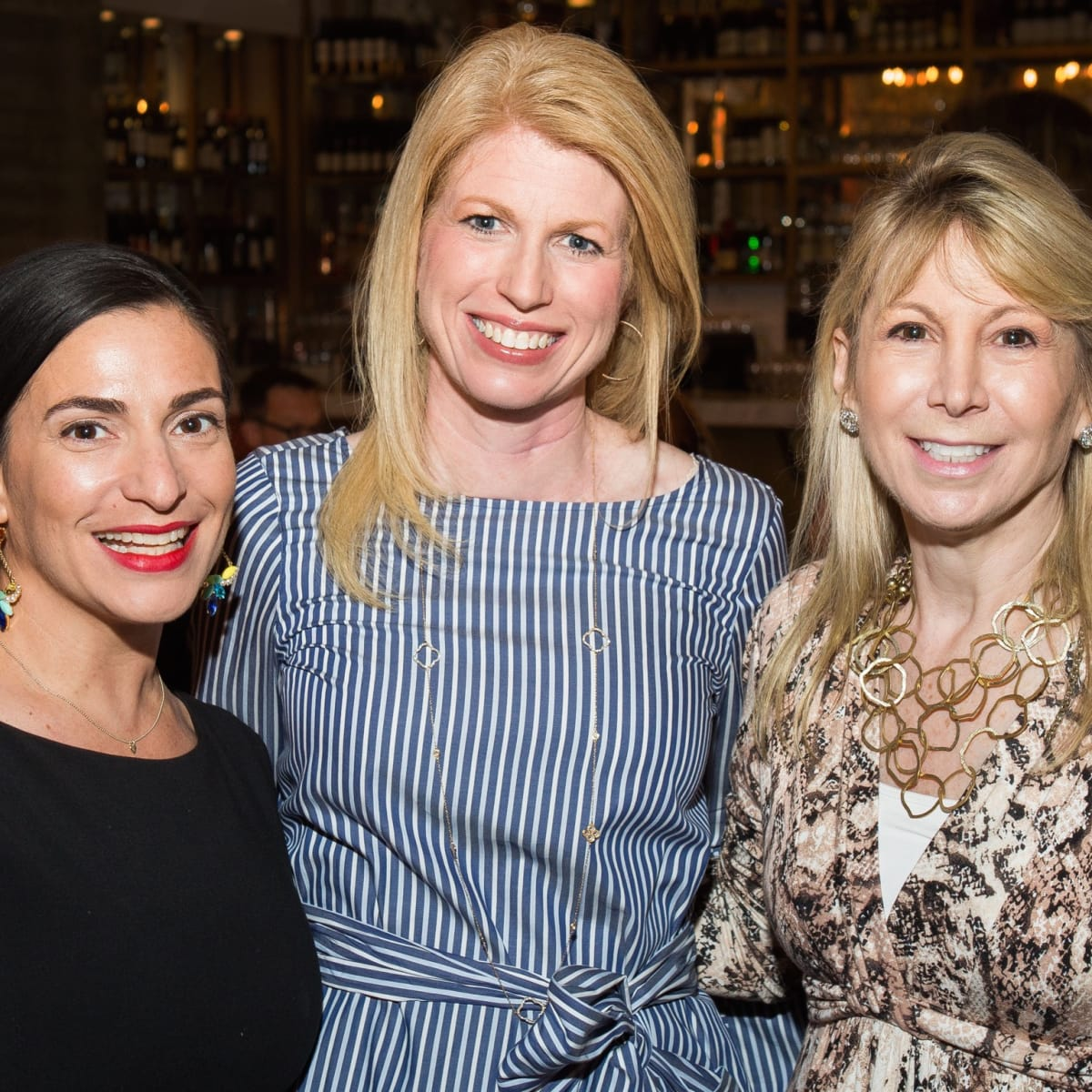 Carla Leslie, Jacquelyn Cox, Candace Thomas at UTHealth Children's Learning Institute's fifth annual tasting dinner