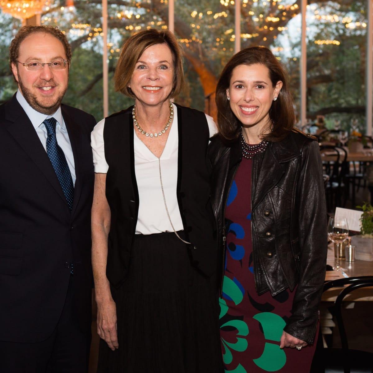 UTHealth Children's Learning Institute's fifth annual tasting dinner, Neil and Jennifer Wizel,Susan Landry