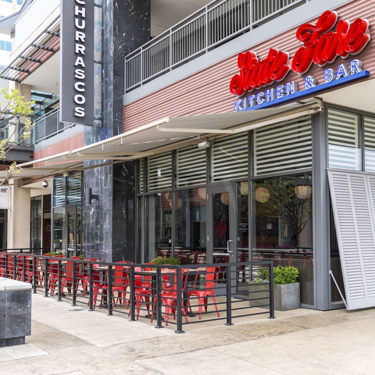 Houston, new patios, March 2017, State Fare