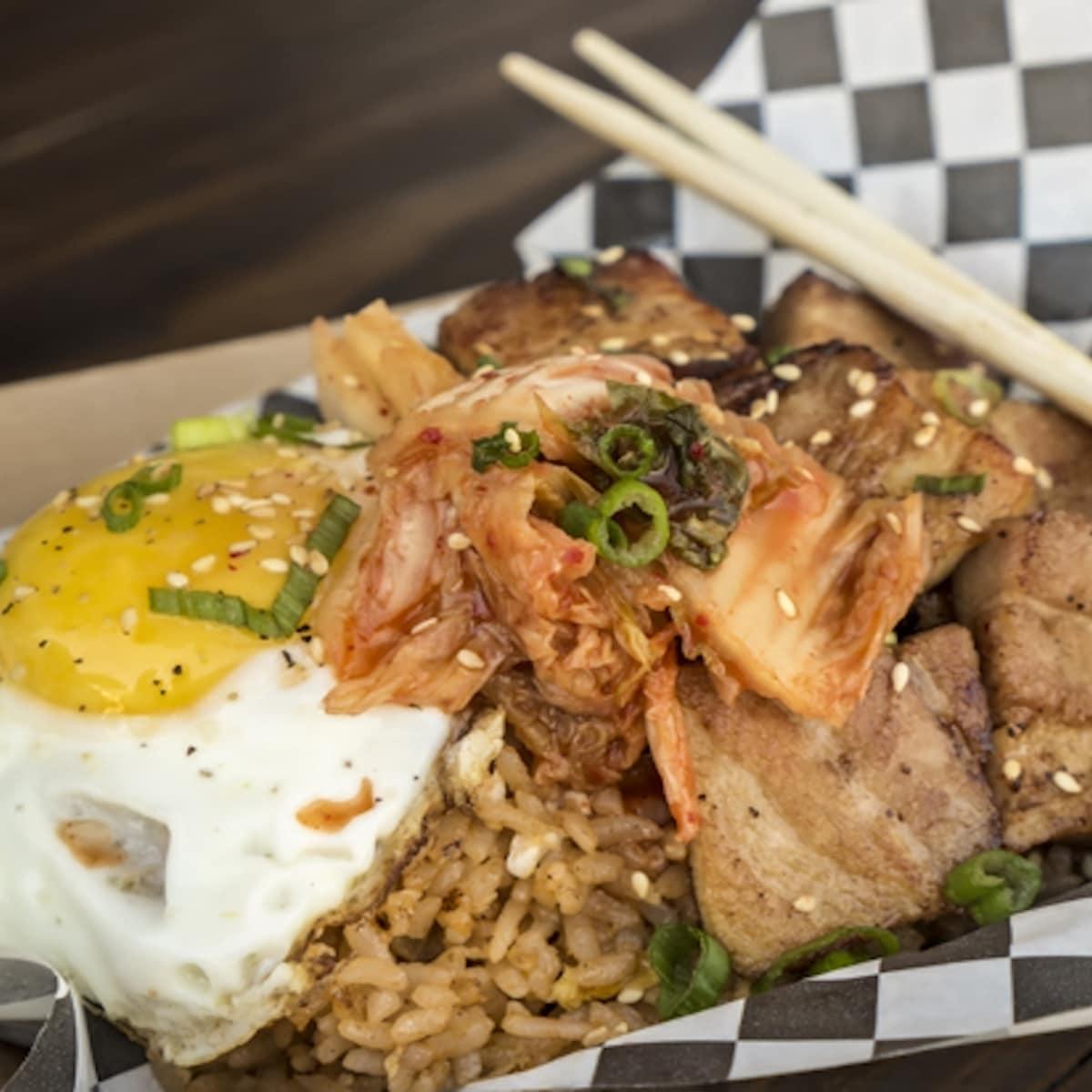 Wokker pork belly fried rice
