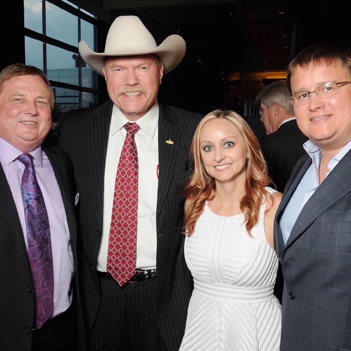 David Sargent Sr, Sheriff Bill Waybourn, Kari Sargent, David Sargent Jr at Kickstart gala